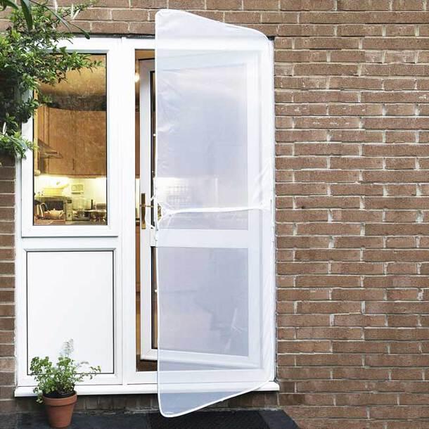 Instant door sceen (white)(90x206cm)