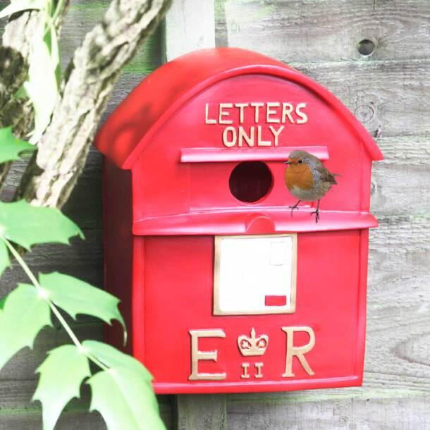 Postbox Bird House