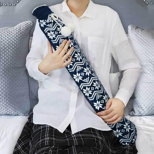 2Ltr Luxury Long Hot Water Bottle