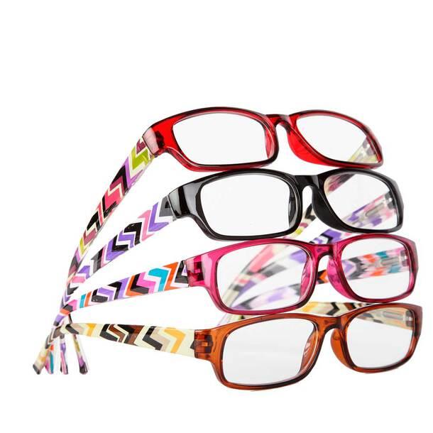 Fashion Reader Glasses (Set of 4)