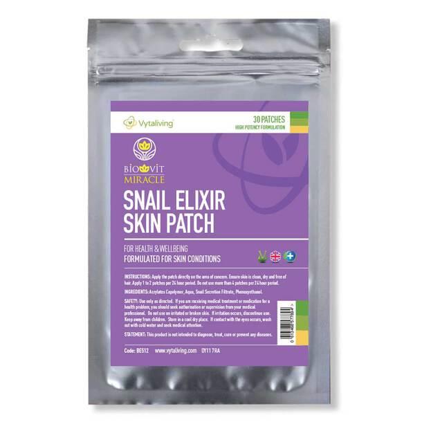 Biovit Snail Elixir Skin Patch (30 Patches)
