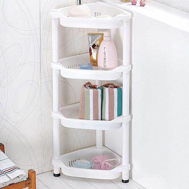 4-Tier Corner Shelf