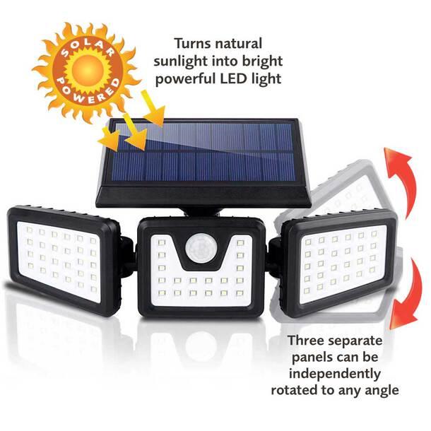 Wide-Angle Solar Sensor Spotlight