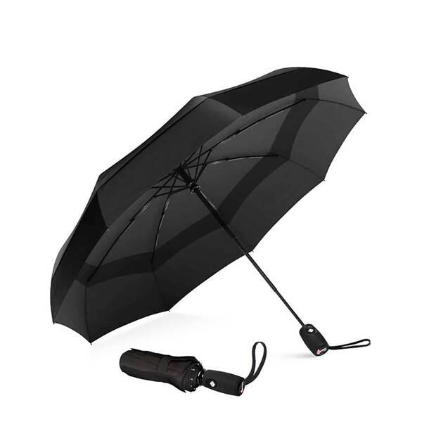 Compact Automatic Windproof Umbrella