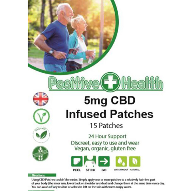 5mg CBD Patch (15 Patches)