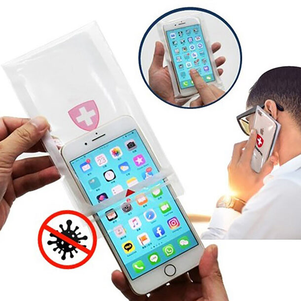Antibacterial Phone Bag (set of 4)