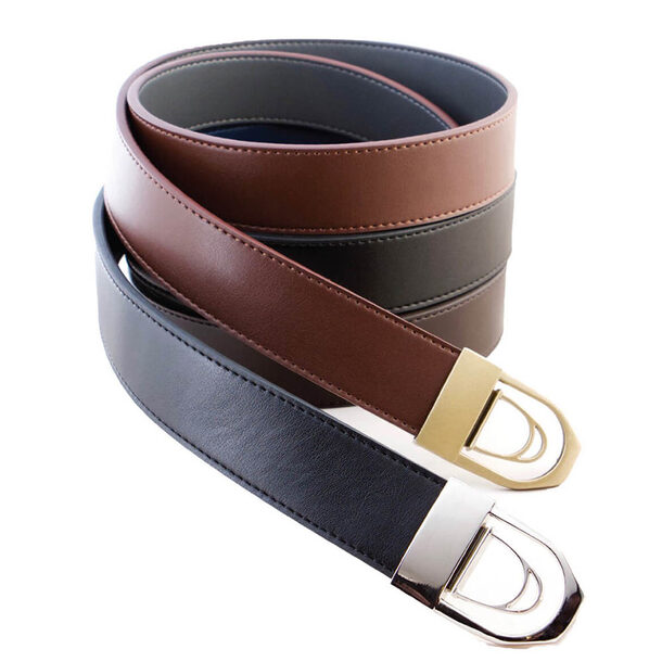 Reversable Leather Belts (Pack of 3)