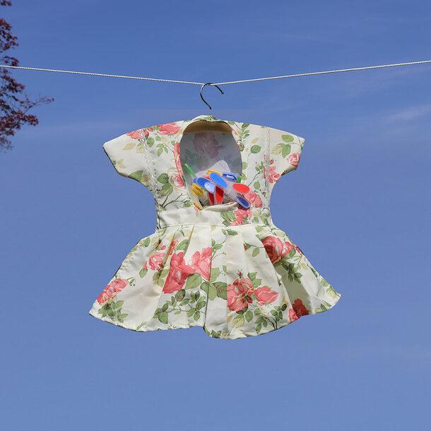 Summer Dress Peg Bag +12 Pegs