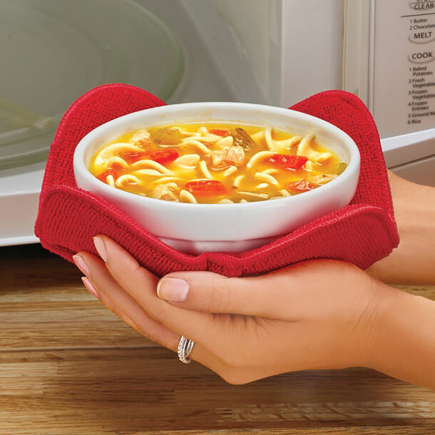 Microwave Bowl Huggers (Pack of 4)