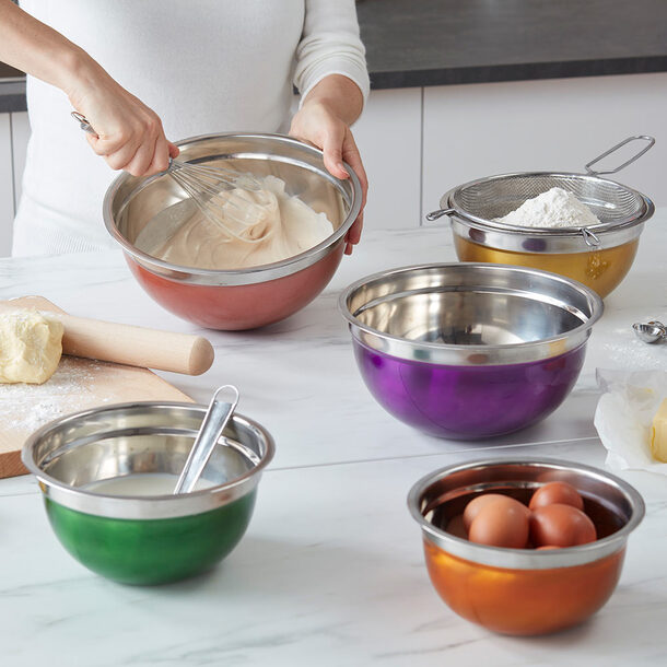 Stainless Steel Bowl (Set of 5)