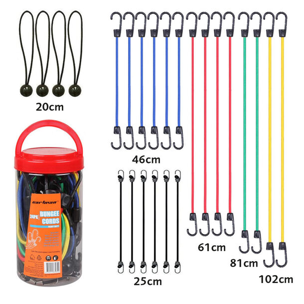 Bungee Cords (Pack of 24)