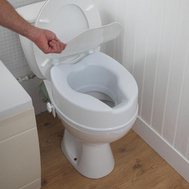 6 Raised Comfort Toilet Seat