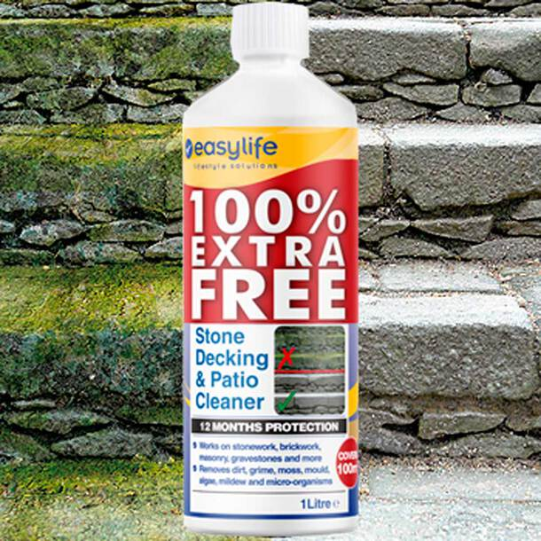 Stone, Patio and Decking Cleaner