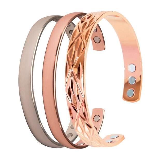 Copper and Magnet Bangle