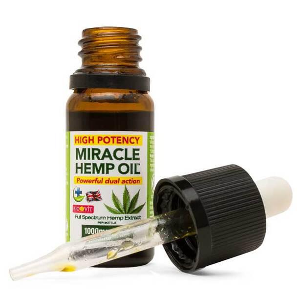 Miracle Hemp Oil (10ml)