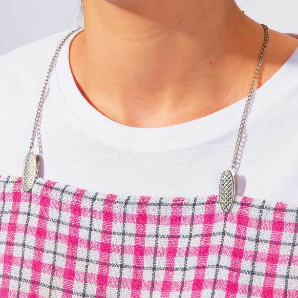 Silver Napkin Chain - (Pack of 2)