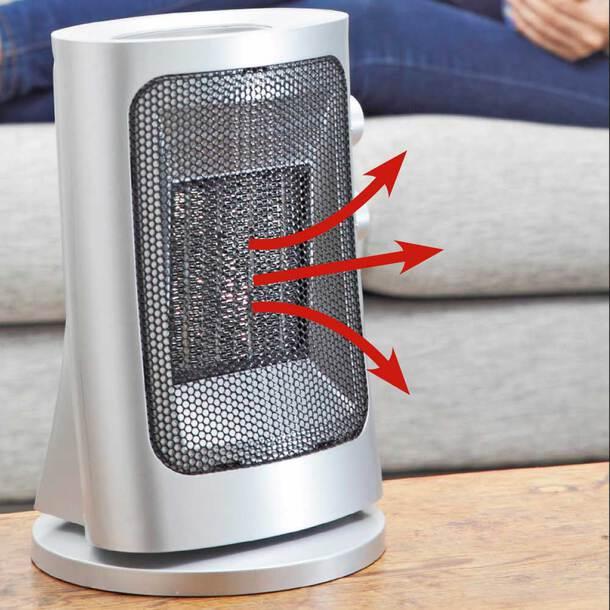 Slimline Ceramic Fan Heater
