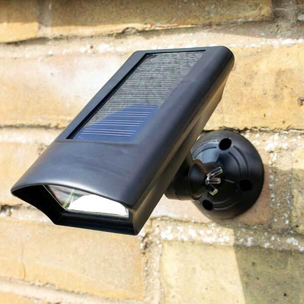 Solar Motion Activated Spotlight