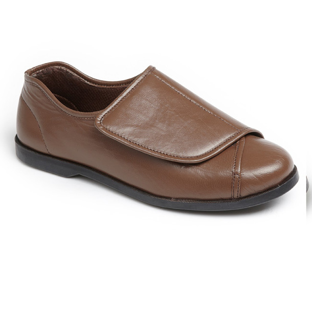 Made-to-Measure Leather Shoes (Pair) - Brown Size 14