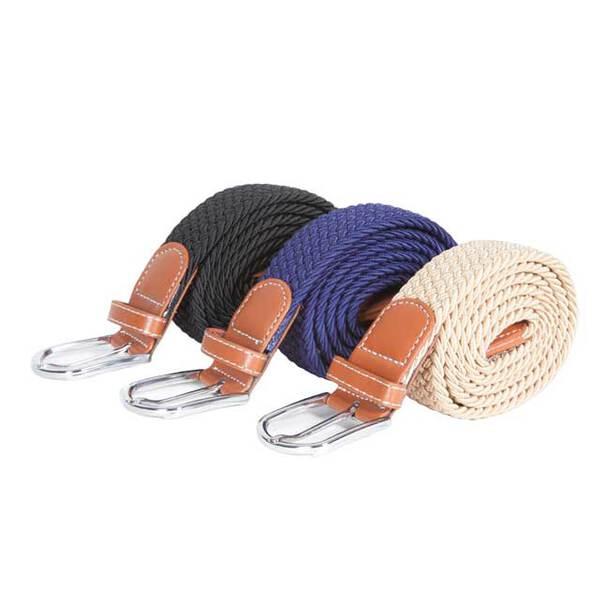 Stretch Belt - Set of 3 (1xBlack, 1xNavy, 1xBeige)